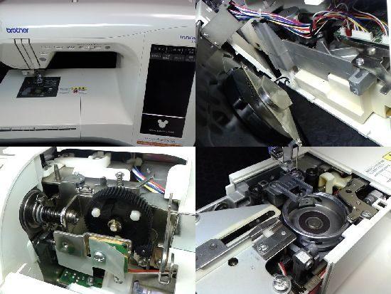 ブラザーイノヴィスD400Jのミシン修理
