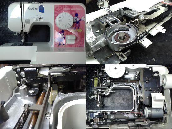ブラザーミシン修理EL115