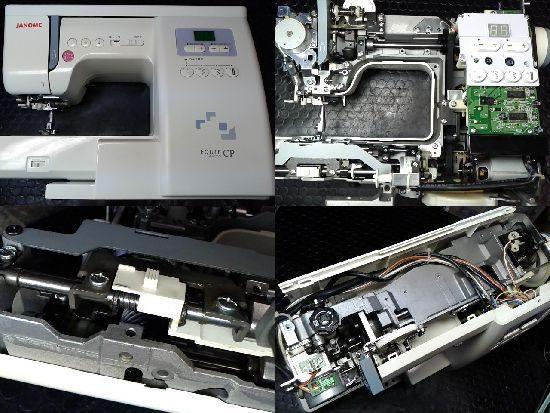 ジャノメエクールCP843型のミシン修理