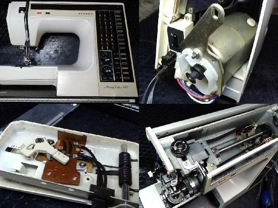 メモリークラフト6000のジャノメミシン修理