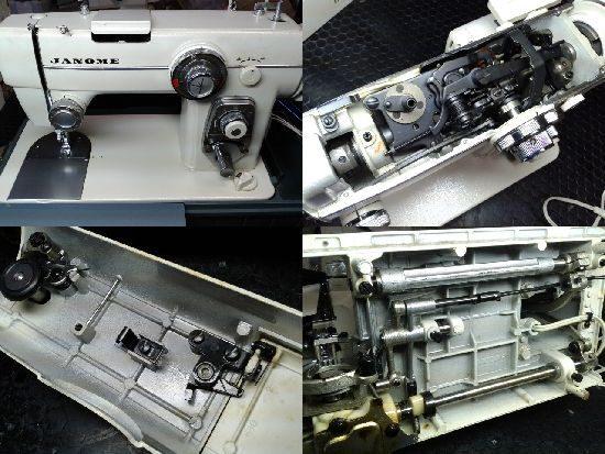 ジャノメ680型のミシン修理