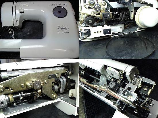 ジャノメ5550のミシン修理