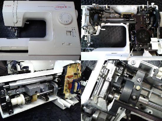 シンガーSarejio2のミシン修理