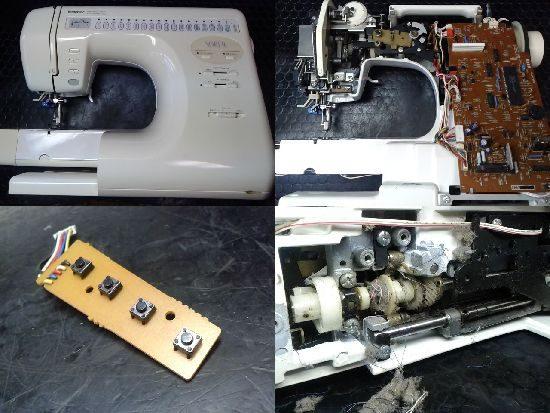 ブラザーミシン修理ソレイユ(ZZ3-B823)