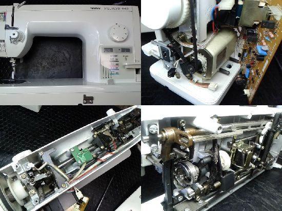 ブラザーヌーベル450のミシン修理