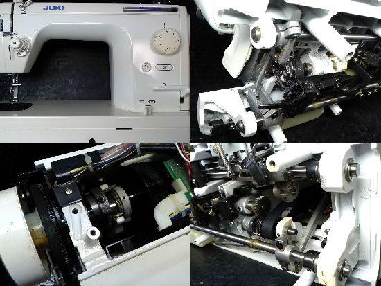 JUKIシュプール25SPのミシン修理