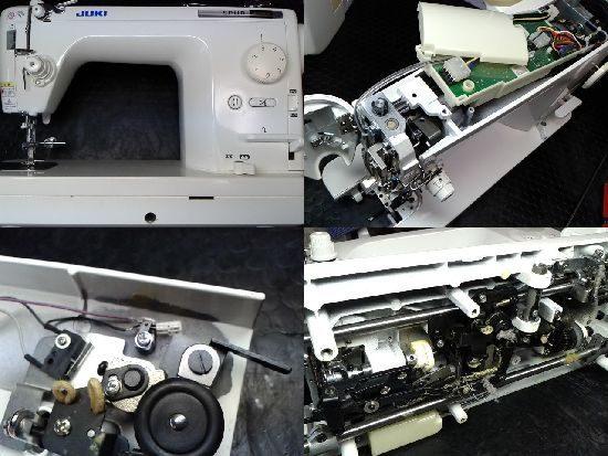 JUKIシュプールブンカTL-30DXBのミシン修理