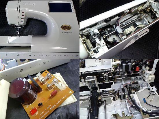 ジャノメミシン修理セシオEX-3(9201型)