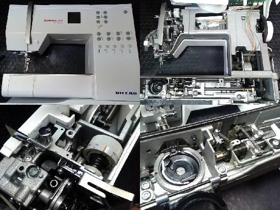 リッカーミシン修理ベルニナ130