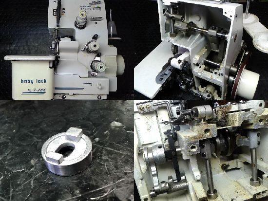 ジューキベビーロックミシン修理BL3-406