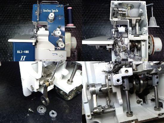 ジューキベビーロックミシン修理BL3-406Ⅱ