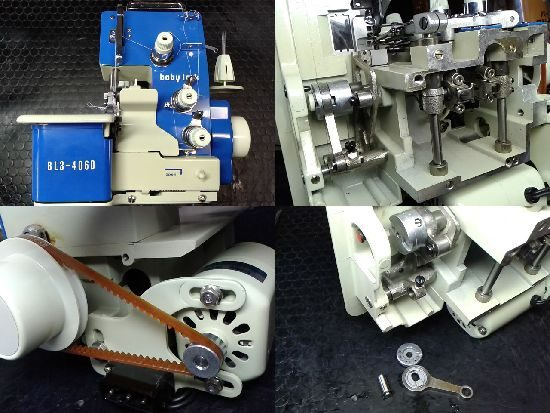 ジューキベビーロックミシン修理BL3-406D