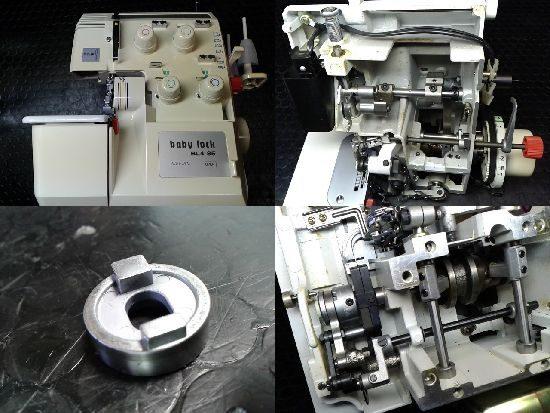 ジューキベビーロックミシン修理BL4-85