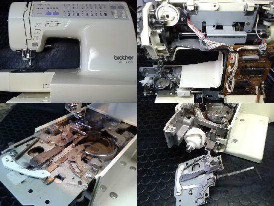 ブラザーミシン修理BC-3000(CP969)