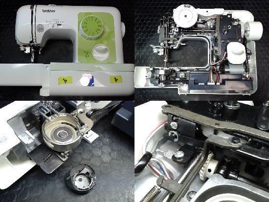 ブラザーミシン修理A35-LG(ELU52)