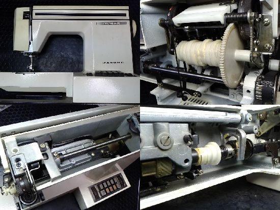 ジャノメミシン修理エクセル625型