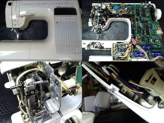 JUKIミシン修理HZL-9800