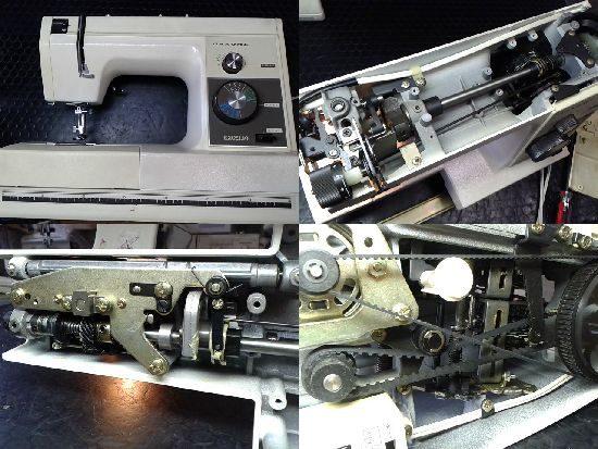 ジャノメミシン修理エクセル10