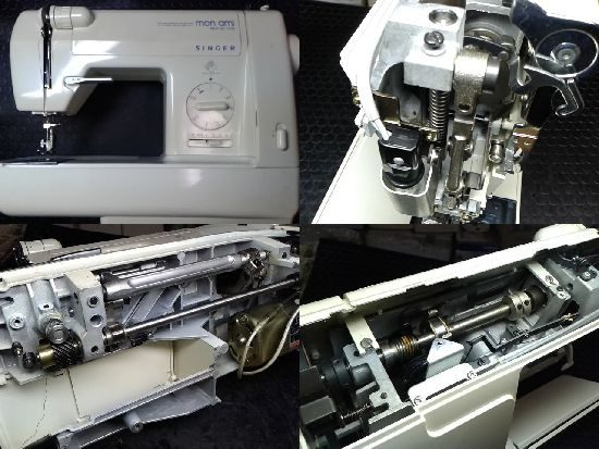 シンガーミシン修理モナミNEW DX 1730