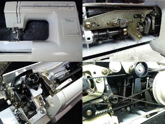 ジャノメミシン修理プレール18