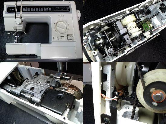 ブラザーミシン修理ピュレット(ZZ3-B425)