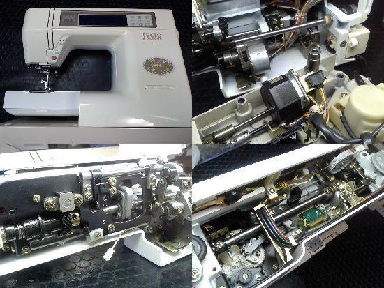ジャノメミシン修理セシオ8200