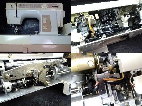 ジャノメミシン修理コンビ2300SX