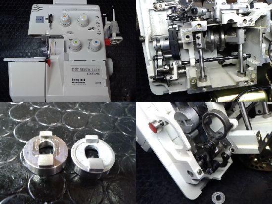 ベビーロックミシン修理BL4-828DF