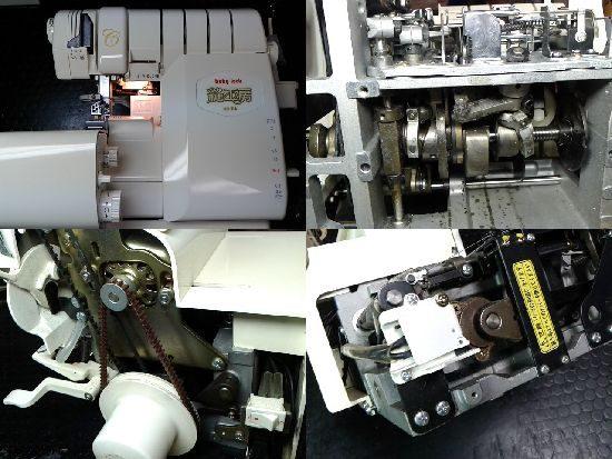 ベビーロックミシン修理BL75縫工房