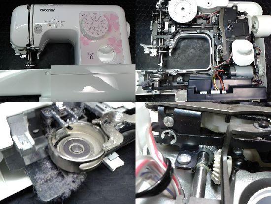 ブラザーミシン修理N37-PF(ELU5405)