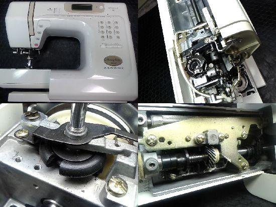 ジャノメミシン修理メモリークラフト5400(840型)