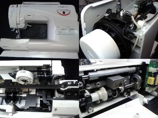 シンガーミシン修理モニカピクシー5710R