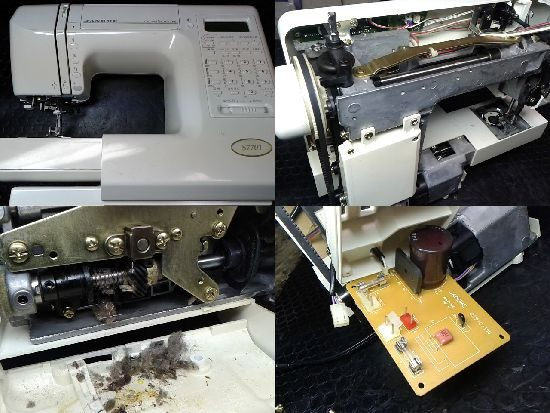ジャノメミシン修理S7701