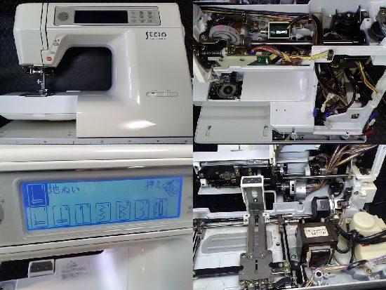 ジャノメミシン修理セシオ8300