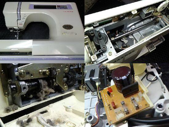 ジャノメミシン修理セシオ8700