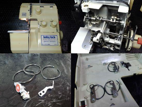 ベビーロックミシン修理BL3-450MR