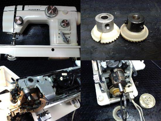 ジャノメミシン修理トピアエース802型