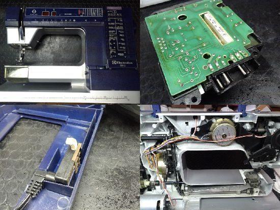 エレクトロラックスミシン修理プリズマ990S