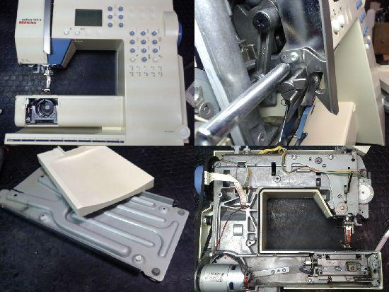 ベルニナミシン修理アクティバ125S