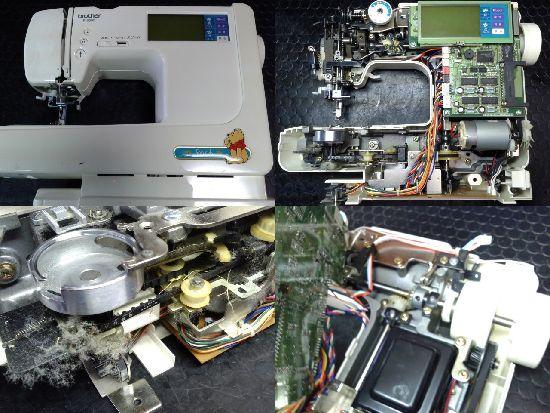 ブラザーミシン修理P-5000(ZZ3-B140)
