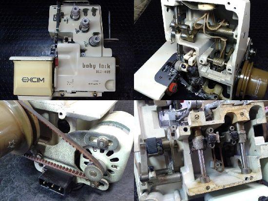 ジューキベビーロックミシン修理BL3-408