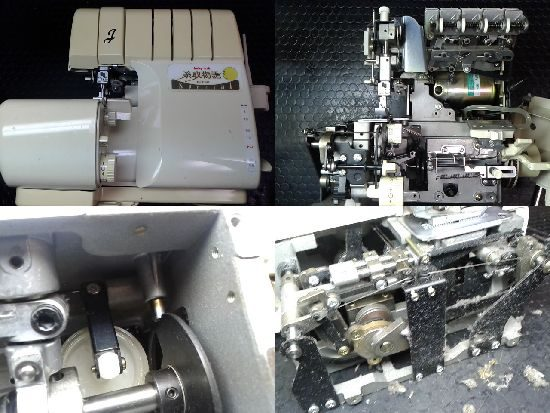 ジューキベビーロックミシン修理BL660糸取物語