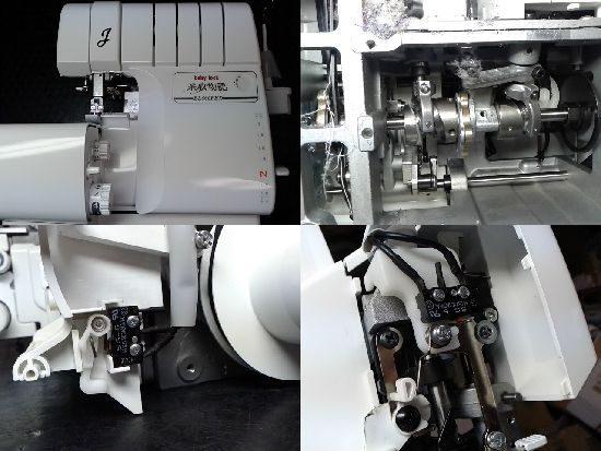 ジューキベビーロックミシン修理BL660FEX糸取物語