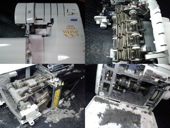 ジューキベビーロックミシン修理BL69WJ