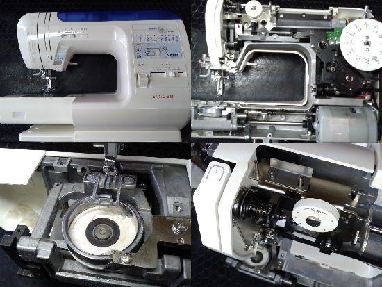 シンガーミシン修理モデルCE-50