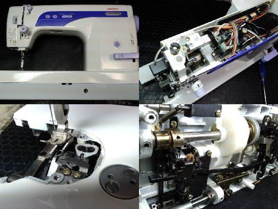 ジャノメミシン修理コスチューラ767DX