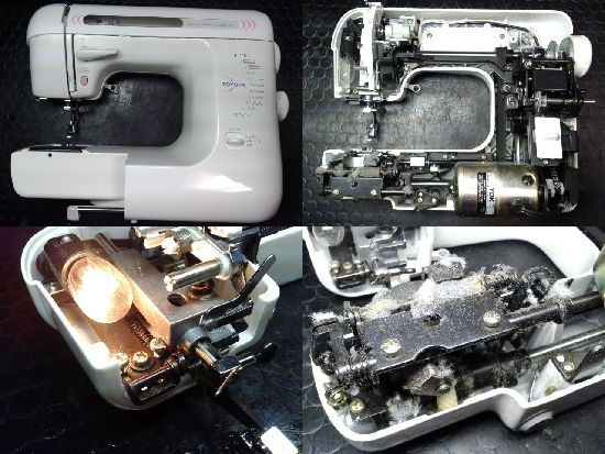 トヨタミシン修理EB300ST
