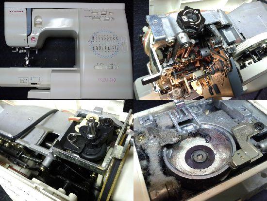ジャノメミシン修理エクール940