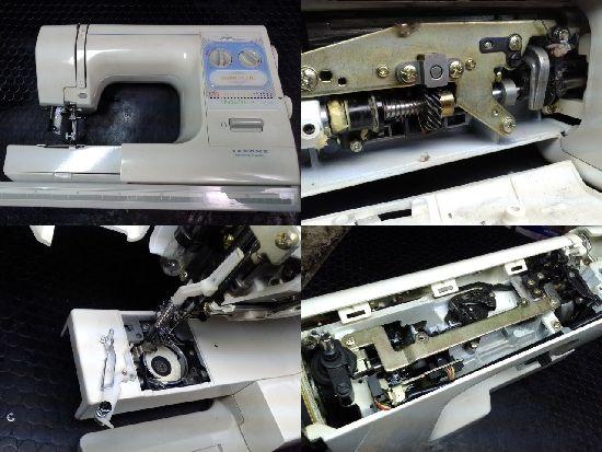 ジャノメミシン修理ファブリックメイト