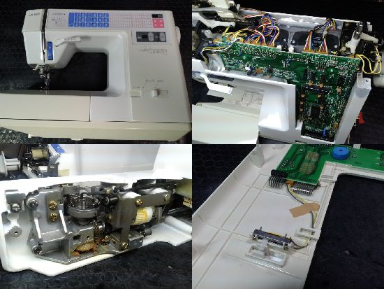 JUKIミシン修理HZL-7700